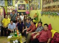 拿督沈桂贤服务团队向多位欢庆节假的达雅领袖贺节