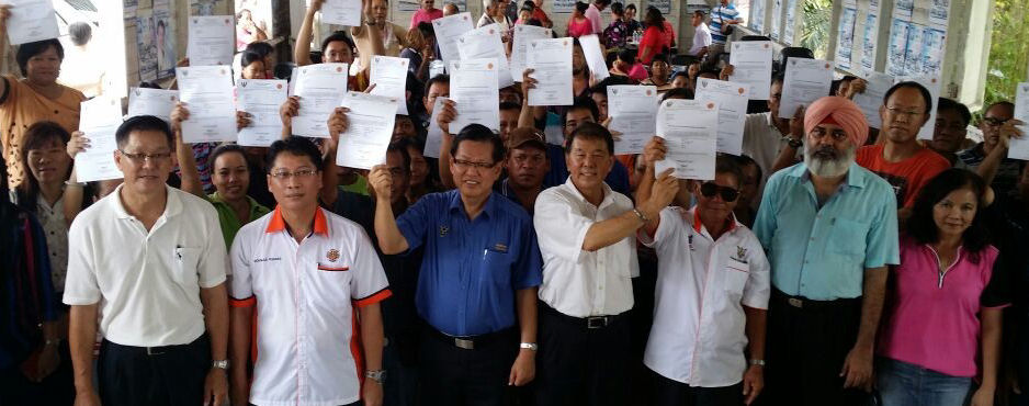 SUPP HELPING OUT RESIDENTS OF KAMPUNG MERIKAN