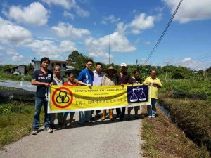 gotong royong project in longhouse area