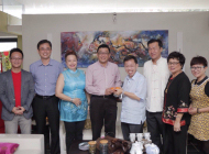 DATUK DR SIM KUI HIAN CHINESE NEW YEAR VISITS