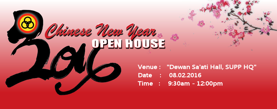 SUPP CHINESE NEW YEAR 2016 OPEN HOUSE
